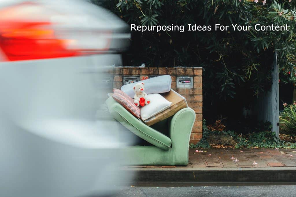 repurposing ideas for your content